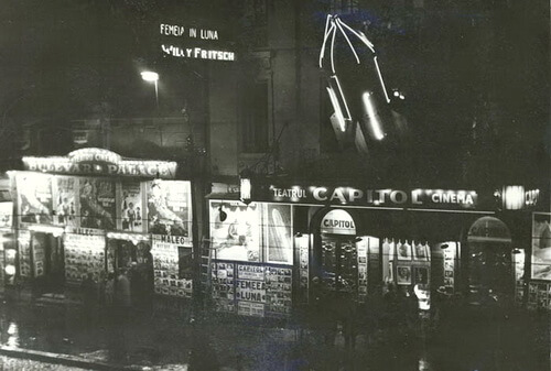 Cinema Capitol, 1929