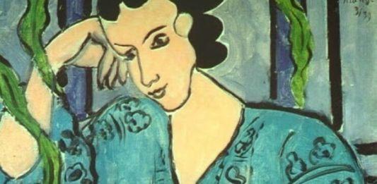 "Mihaela Popescu, Henri Matisse, ""Bluza românească verde"" (fragment)"