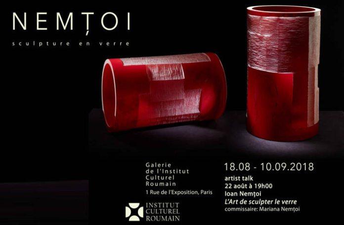 Nemtoi - Sculpture en verre Paris