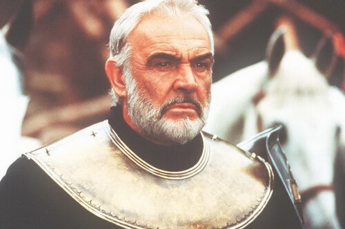 "Sean Connery in filmul ""First Knight"" (1995)"