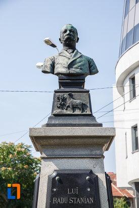 Statuia lui Radu Stanian, Ploiești