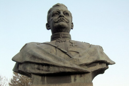 Bustul generalului Eremia Grigorescu