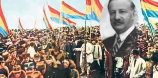 Daniela Șontică Mihai Popovici Marea Unire memor leviathan.ro