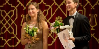 Daria Parkhomenko și Daumants Liepinš. Fotografie de Andei Gîndac