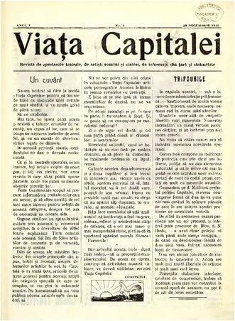 tripouri-bucuresti-1911-viata-capitalei