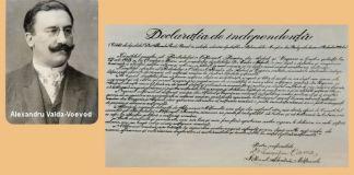Alexandru Vaida Voevod Declaratia de independenta Transilvania 1918