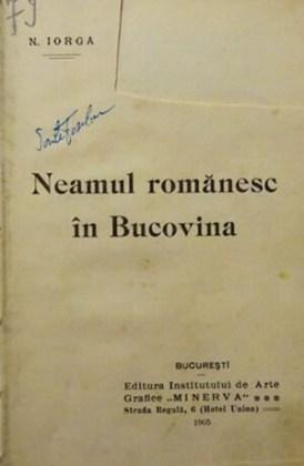Ediție princeps, București, Editura Minerva, 1905