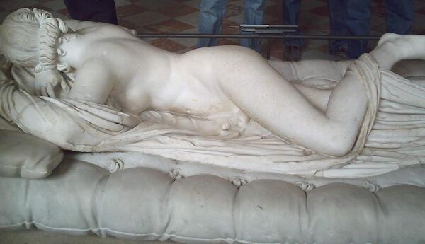 Hermafrodit, artă romană