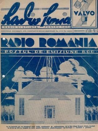 """Revista """"Radiofonia"""", editată de """"Adevărul"""", nr. din 5 nov. 1939"""