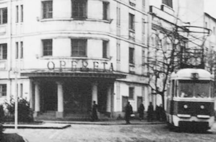 Vechiul sediu al Teatrului de Operetă din București, demolat în 1986.Sursa Bucureștiul dispărut