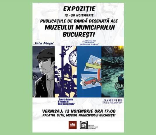 expozitie benzi desenate muzeul muncipiului bucuresti
