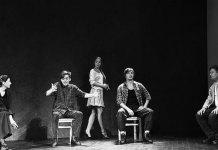 """Imagine din spectacolul """"Vedere de pe pod"""" de Arthur Miller, Teatrul Lesia Ukrainka, Kiev"""