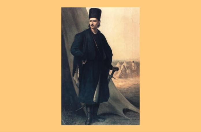 Tudor Vladimirescu, tablou de Theodor Aman