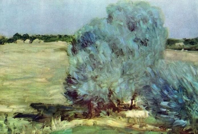 """Ștefan Luchian, """"Sălciile de la Chiajna"""", 1905"""