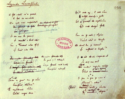 Manuscris eminescian