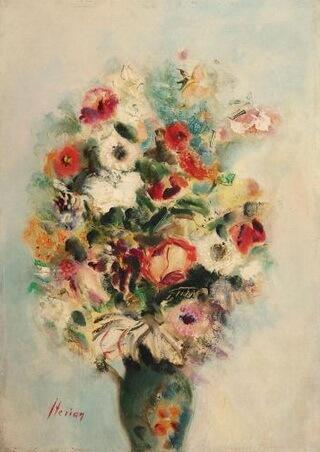 """Margareta Sterian, """"Flori de primăvară"""""""
