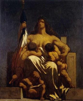 """""""Republica"""", 1848, Muzeul Orsay, Paris"""