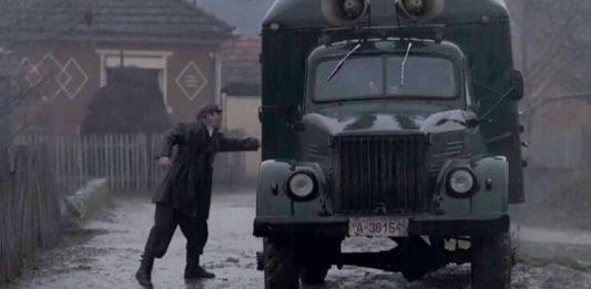"""Imagine din filmul """"Caravana cinematografică"""""""