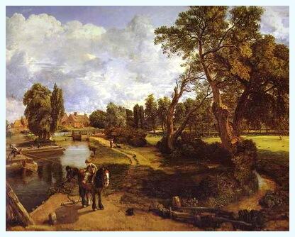 """Moara din Flatford"", 1817"