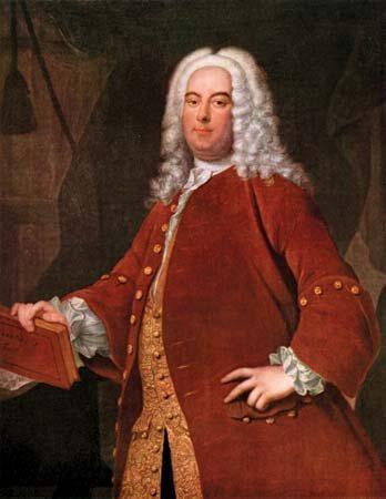 Georg Friedrich Händel, portret de Thomas Hudson, c. 1736