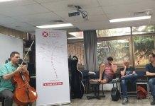 Andrei Kivu, Master Class la Academia de Muzică din Ierusalim