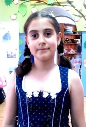 """Briana Maria Băjenaru, 10 ani, Şcoala gimnazială """"Sf. Maria"""", Brăila"""