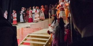 """Imagine din spectacolul """"Carmen"""" de Georges Bizet, Opera Națională București. Fotografie de Sebastian Bucur"""