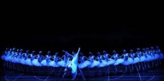 """Imagine din spectacolul """"Lacul lebedelor"""", Opera Națională București"""