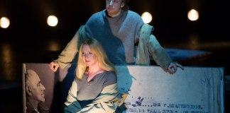 "Imagine din spectacolul ""Mandelstam"", Teatrul lui Roman Viktyuk"