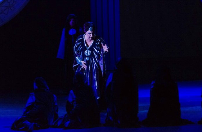 """Sorana Negrea în """"Bal mascat"""" de Verdi, Opera Națională București"""