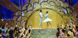 """Imagine din spectacolul """"Frumoasa din Pădurea Adormită"""", ONB. Fotografie de Steluța Popescu"""