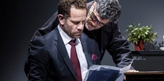 "Imagine din spectacolul ""Recurs"", Teatrul Ghesher din Tel Aviv"