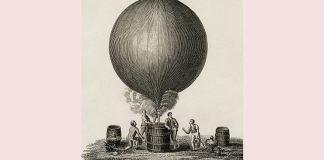 primul balon cu aer cald