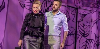 """Irina Baianț și Florin Budnaru în """"My Fair Lady"""", Teatrul Național de Operetă și Musical """"Ion Dacian"""" din București"""