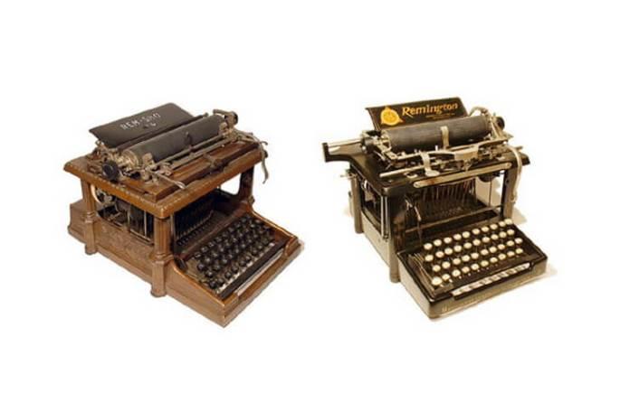 inventarea masinii de scris