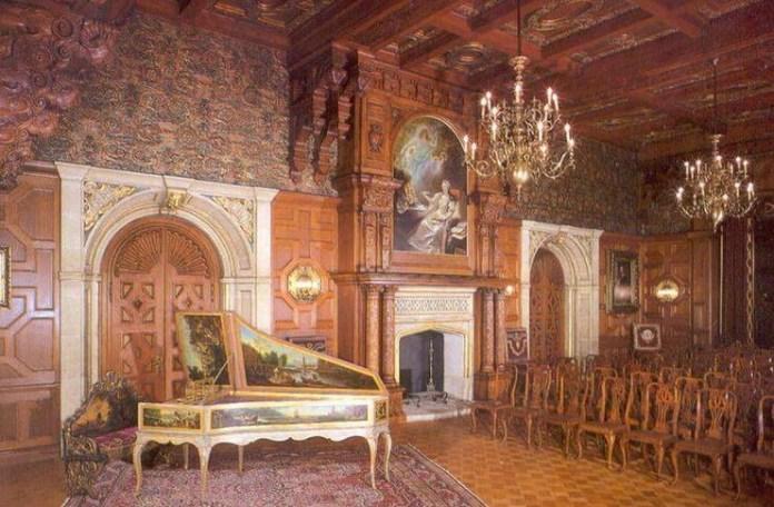 Castelul Peleș, Sala de concerte