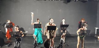 Fotografie de la repetiții