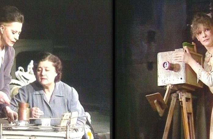 """Imagine din spectacolul """"Dimineață pierdută"""", regia: Cătălina Buzoianu"""