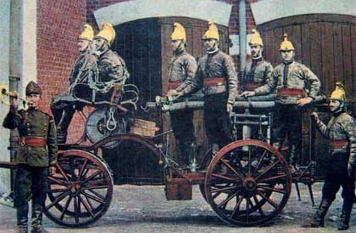 pompieri secolul XIX