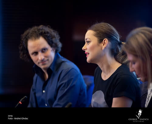 18 Septembrie Conferinta - Orchestra Nationala din Lille - Marion Cotill...