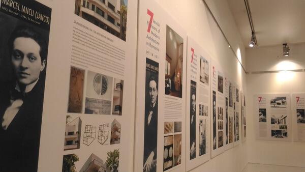 4 expozitie 7 pionieri ai arhitecturii