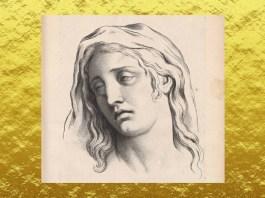 """Charles Le Brun (1619 – 1690), """"Tristețea"""", Biblioteca Națională a Franței"""