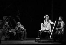 """Imagine din spectacolul """"Lulu"""" de Frank Wedekind, Teatrul Maghiar de Stat din Cluj-Napoca"""