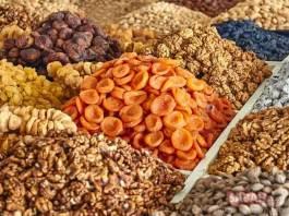 Ingrediente pentru prepararea Âșure. Sursa foto: sabah.com.tr