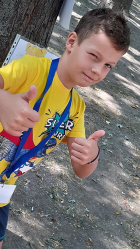 """Nectarie Spânu, 7 ani, Şcoala gimnazială """"Mihai Eminescu"""", Brăla"""
