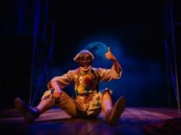 """""""Arlecchino și pierdutele iubiri"""". Fotografie de © Vlad Catană. Sursa: Teatrul Excelsior"""