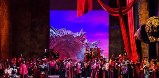 """""""Trubadurul"""". Fotografie de Sebastian Bucur, Opera Națională București"""