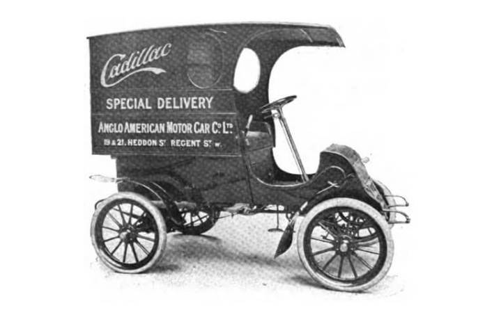 Cadillac, model 1904. Sursa: Wikipedia