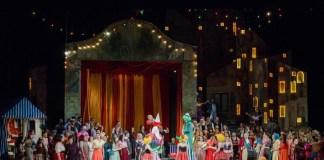 """""""Pagliacci"""". Fotografie de Sebastian Bucur, Opera Națională București"""