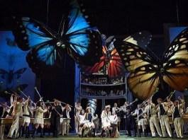 "Fotografie din spectacolul ""Così fan tutte"" de Mozart, Opera Israeliană, Tel Aviv"